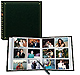 12-at-a-time post-bound ELITE Hunter-Green album w/memo area 4x6 pocket pages
