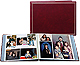 XL Pro Elite Burgundy magnetic page album