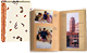 ECO-Paper MULBERRY album holds 300 4x6-4x12 photos with memo area