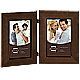 DAKOTA dark walnut beveled hinged double