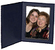 Black cardboard event photo folder frame black/plain border (sold in 25s)