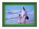 White FOND IMPRESSIONS with triple green wood mat by Dennis Daniels�