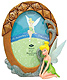 CUTE frame featuring TINKER BELL� by Disney�