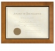 DAKOTA Walnut Certificate frame from Prinz�