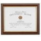Ridged Walnut & Gold Document by Lawrence Frames�