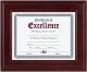 Mahogany finish wooden document frame by DAX/Connoisseur�