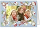 CHARMING SNOWMENphoto insert Holiday Card (sold in 20s)