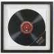 The original Umbra� RECORD Black Float and Double-sided frame for your LP Album