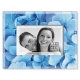 BLUE HYDRANGEA glass frame by Sixtrees�