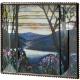 Tiffany Magnolias & Irises Glass Frame from the Metropolitan Museum� collection