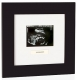 LOVE AT FIRST SIGHT: Pearhead� / Babyprints� sonogram black frame