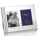 AVENUE Silver Plated Invitation Double 5x7 picture frame by Mikasa�