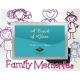 FAMILY MEMORIES special celebration glass frame