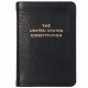 Palm-Size Constitution in Black Leather.by Graphic Image�