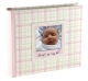 BABY GIRL photo album / brag book for 1-up prints by Malden�