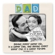 DAD - BEHIND EVERY GREAT KID picture frame by Our Name is Mud�