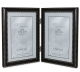 Hard-To-Find hinged double 4x6 frame in oil rubbed bronze with beading