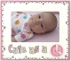 CUTE AS A [BUTTON] Baby PINK by Malden Design�