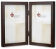ESPRESSO-Brown Hinged Double for 4x6 prints by Lawrence�