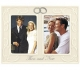 DOUBLE INTERLOCKING RINGS THEN AND NOW Anniversary frame by Malden�