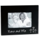 NANA AND ME ebony-black keepsake frame