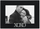 XOXO HUGS & KISSES EXPRESSIONS ebony-black frame