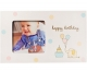 Babyprints� HAPPY BIRTHDAY frame
