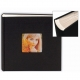 BOOKCLOTH BLACK 2-Up Flex Album for 4x6/5x7 prints by Nielsen-Bainbridge�