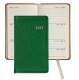 2015 Brights-Green 5 Pocket Datebook Diary in Fine Leather by Graphic Image�