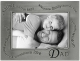 WAVY WORDS for DAD . . . pewter frame by Malden�