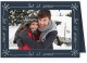 Embossed LET IT SNOWpremium photo insert Holiday Card (sold in 25s)