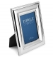 Towle� WIDE BEADED polished Silverplate 5x7 frame