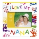 I LOVE MY NANA Wood Frame by Prinz�