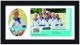 Our Team Black Collage frame 3�x5/7x5 instantly personalizes your group