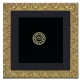 Proof size FLORENTINE 18kt Gold Vermeil 5x5/4x4 captures rich sculptural details by Elias Artmetal�