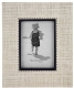 CARSON natural woven organic frame by Reed 4x6 & Barton�