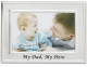 Lawrence Frames� MY DAD MY HERO Brushed Silver 6x4 frame