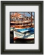 TREVISO luxe ebony-black matted 5x7 / 8x10 ARTCARE wall frame by Nielsen�