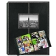 300-Pocket Black Leatherette Frame-Cover Photo Album by Pioneer�