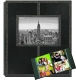 160-Pocket Black Leatherette Frame-Cover Photo Album by Pioneer�