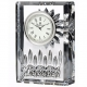The original LISMORE CRYSTAL 4-inch CLOCK by Waterford�