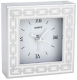 The original SILVER LINKS WHITE Clock by Reed & Barton�