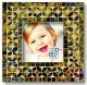 COFFEE/GOLD MULTI MOSAIC frame by Sixtrees�