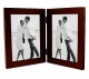 LINEAR Expresso Hinged Double 5x7 frame by Malden Design�