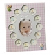 Our Baby Girl FIRST YEAR COLLAGE frame displays 13 photos