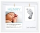 Babyprints� Unisex BIRTH ANNOUNCEMENT keepsake frame