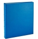 Standard 3-ring Blue Fine Leather album with slip-in pocket pages by Graphic Image�