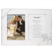 TRUE LOVE Silverplate Double Invitation frame by Lenox� Silver