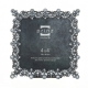 CAMILLE Antique Pewter and Jewels Frame by Prinz�