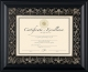 FLORENCE Black Matted 11x8�/14x11 Document Frame by DAX/Intercraft�